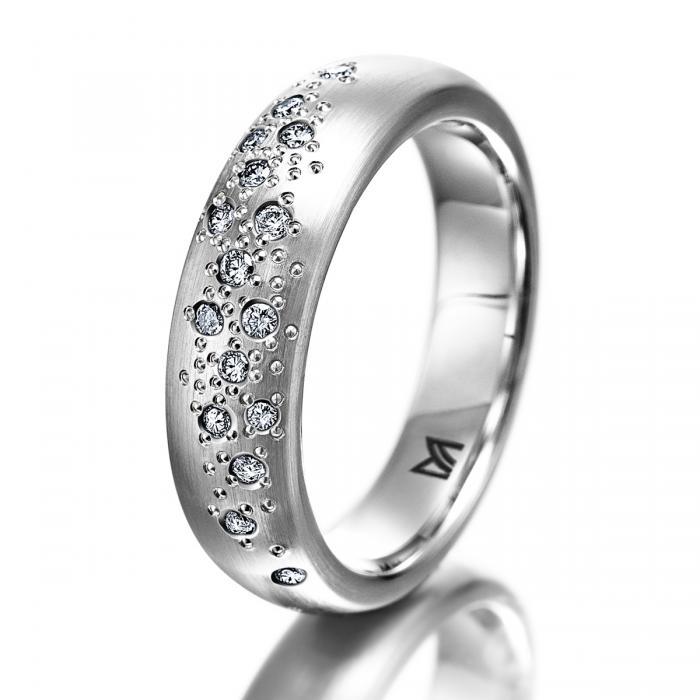 Weißgold ring damen  MEISTER Ringe-Damen 307 - Womens-Collection Weissgold | MEISTER
